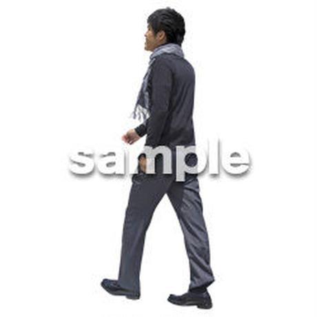 人物切抜き素材 ベーシックファッション編 P_499
