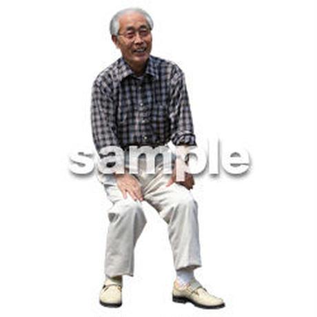 人物切抜き素材 シニアライフ編 R_476