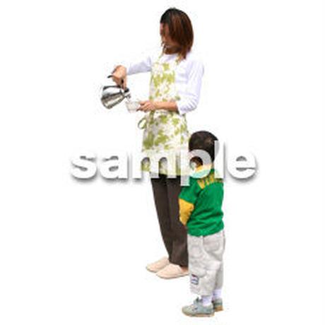 人物切抜き素材 リビング・散歩編 I_060