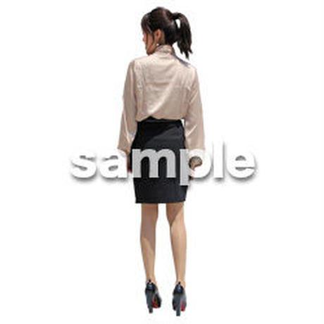 人物切抜き素材 ベーシックファッション編 P_160