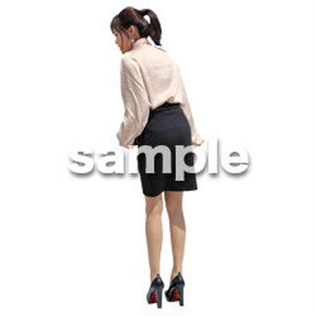 人物切抜き素材 ベーシックファッション編 P_164