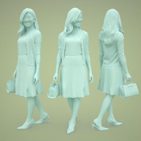 3D人物素材  [Posed]  057_Mao