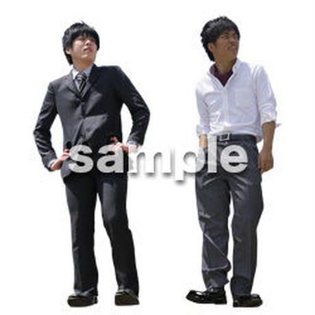 Cutout People ビジネス-日本人 EE_591