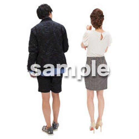 Cutout People ビジネス-日本人 EE_180