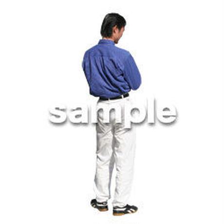人物切抜き素材 カジュアル・ショッピング編 E_205