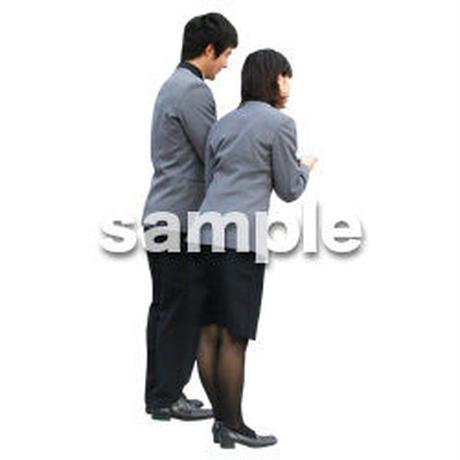 人物切抜き素材 ワーキング編 K_010