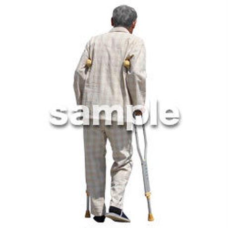 人物切抜き素材 シニア介護編 S_183