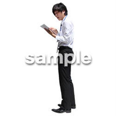人物切抜き素材 ベーシックファッション編 P_348