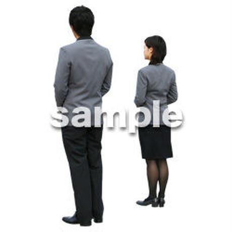 人物切抜き素材 ワーキング編 K_011