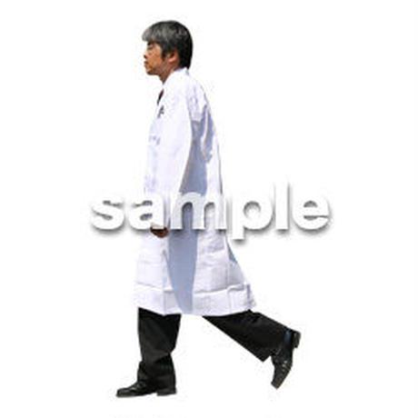 人物切抜き素材 医療・シニア車椅子編 D_038