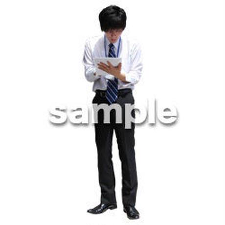 人物切抜き素材 ベーシックファッション編 P_346