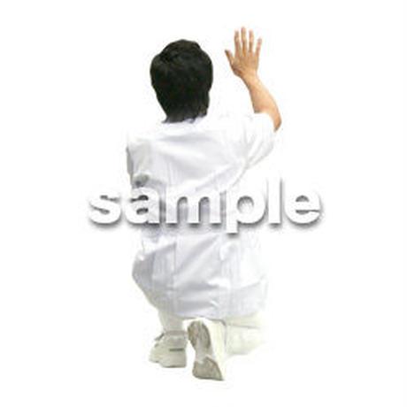 人物切抜き素材 医療・シニア車椅子編 D_029