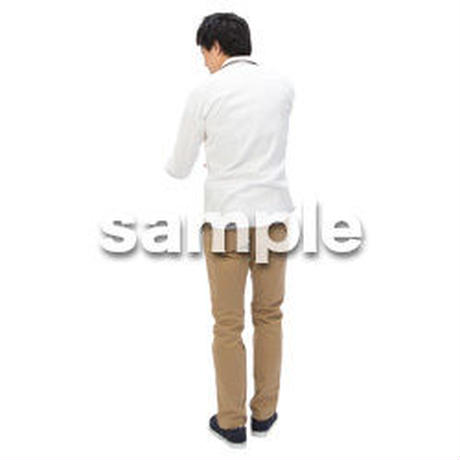 Cutout People ビジネス-日本人 EE_305