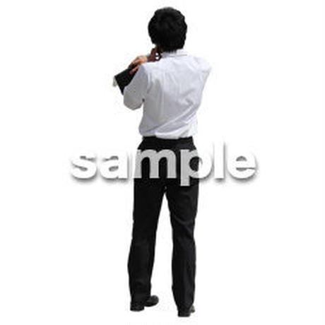 人物切抜き素材 ベーシックファッション編 P_345