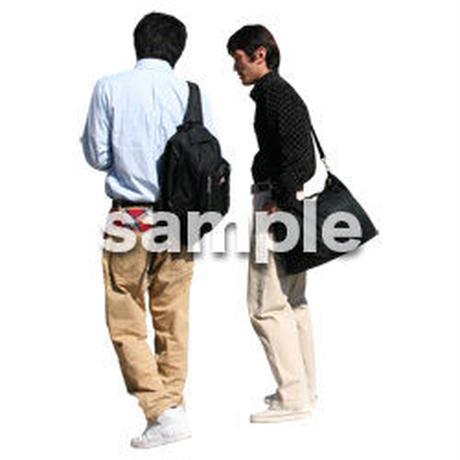 人物切抜き素材 リビング・散歩編 I_082