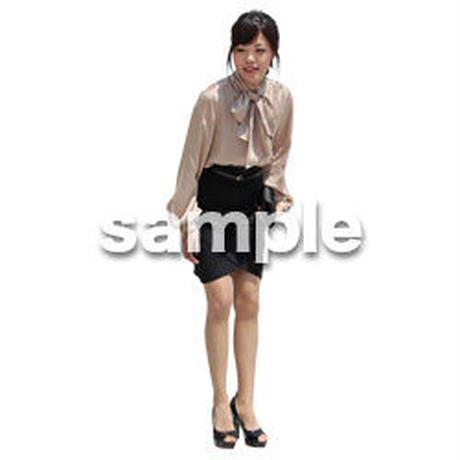 人物切抜き素材 ベーシックファッション編 P_161