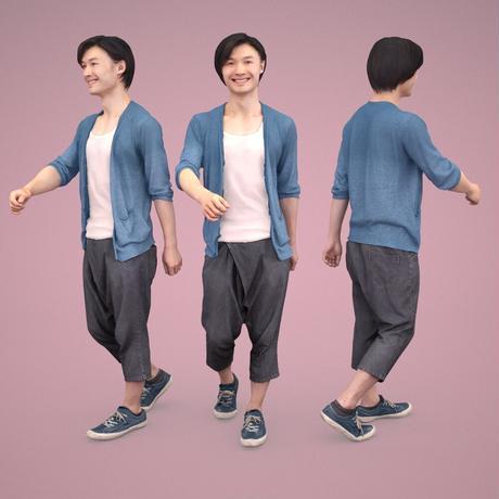 3D人物素材  [Posed]  061_Syun