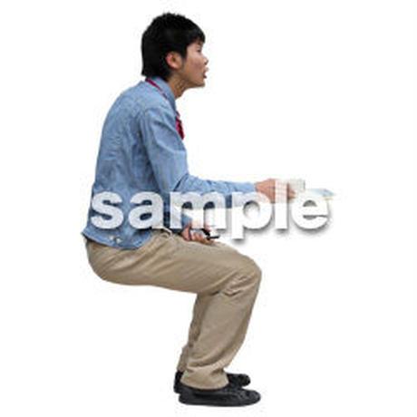 人物切抜き素材 レジャー・ショッピング編 L_475