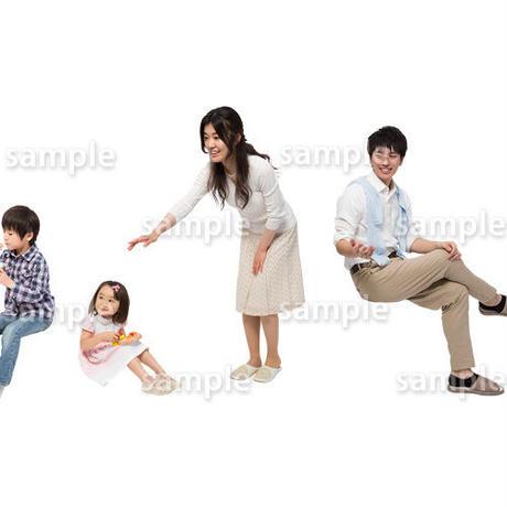 人物切抜きセット☆アットホーム 1_set143
