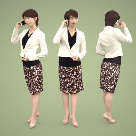 3D人物素材  [Posed]  027_Haru