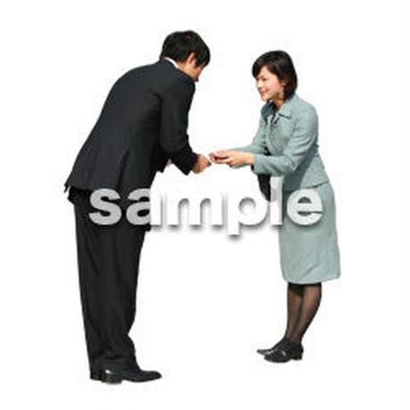 人物切抜き素材 オフィス・フォーマル編 G_031