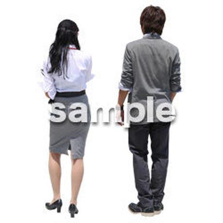 Cutout People ビジネス-日本人 EE_190