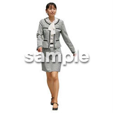 人物切抜き素材 ベーシックファッション編 P_166