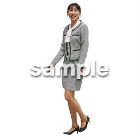 人物切抜き素材 ベーシックファッション編 P_167