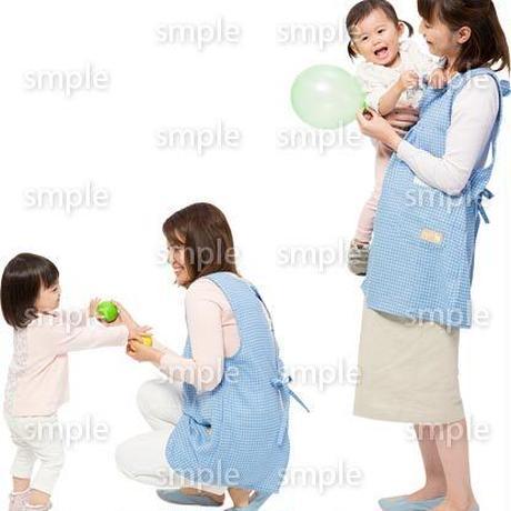 Cutout People 保育士と子供 GG_498