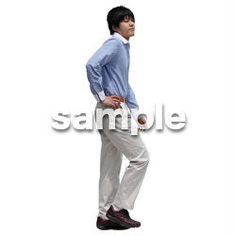 人物切抜き素材 ベーシックファッション編 P_368