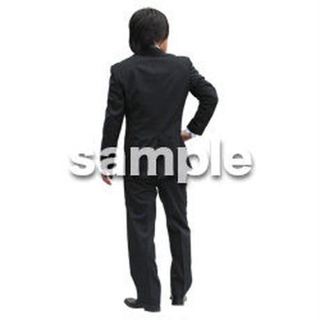 人物切抜き素材 ベーシックファッション編 P_475