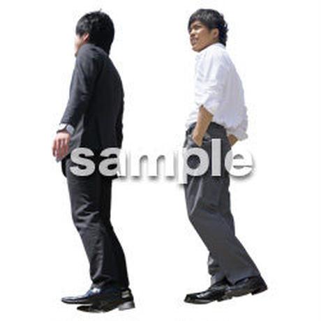 Cutout People ビジネス-日本人 EE_593