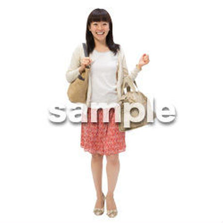 Cutout People 日本人カジュアル BB_321