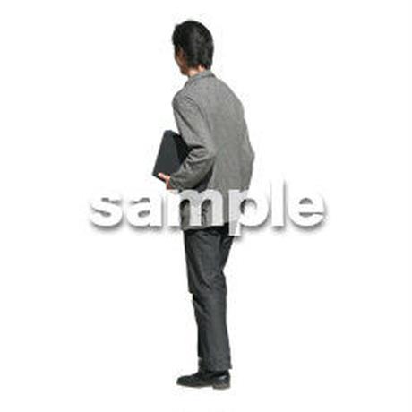 人物切抜き素材 カジュアル・ショッピング編 E_211