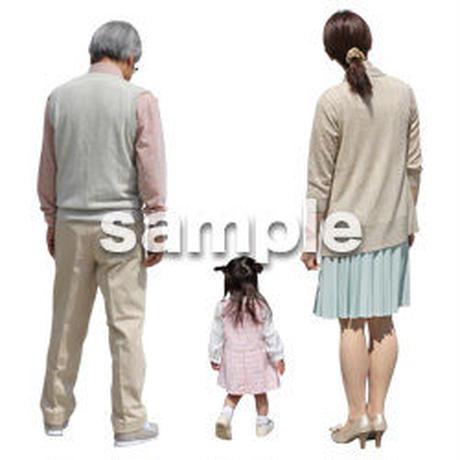 人物切抜き素材 シニアライフ編 R_020