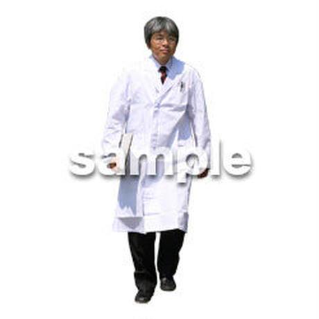 人物切抜き素材 医療・シニア車椅子編 D_036