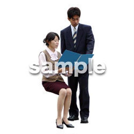 人物切抜き素材 男性女性編 A_056