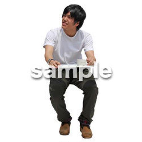 人物切抜き素材 レジャー・ショッピング編 L_479