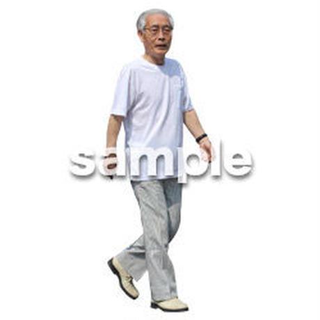 人物切抜き素材 シニアライフ編 R_242