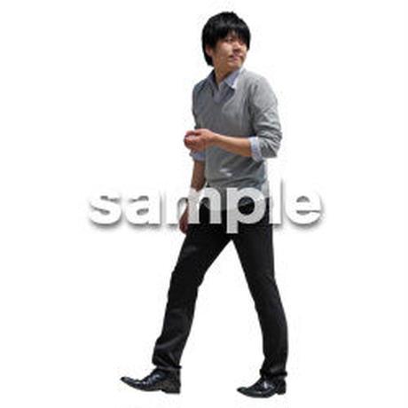 人物切抜き素材 ベーシックファッション編 P_357