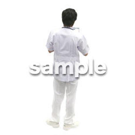 人物切抜き素材 医療・シニア車椅子編 D_015