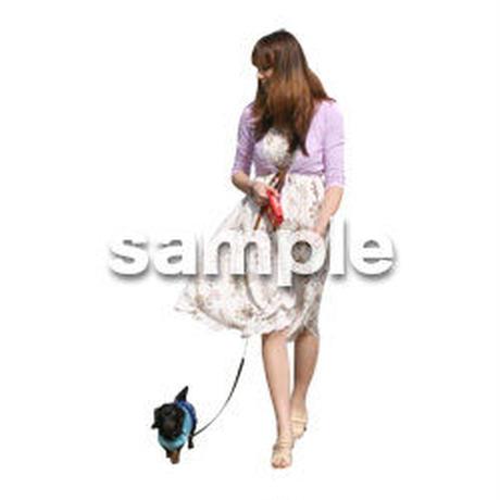 人物切抜き素材 カジュアル・ショッピング編 E_294