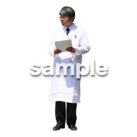 人物切抜き素材 医療・シニア車椅子編 D_041