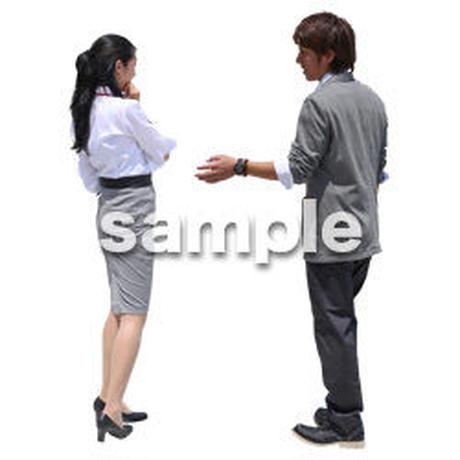 Cutout People ビジネス-日本人 EE_189