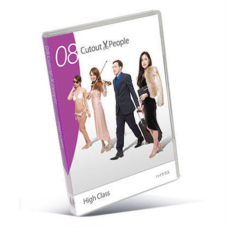 08 Cutout Peopleハイクラス   [DVD]