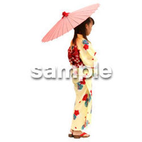 人物切抜き素材 夏服・フィットネス編 J_048