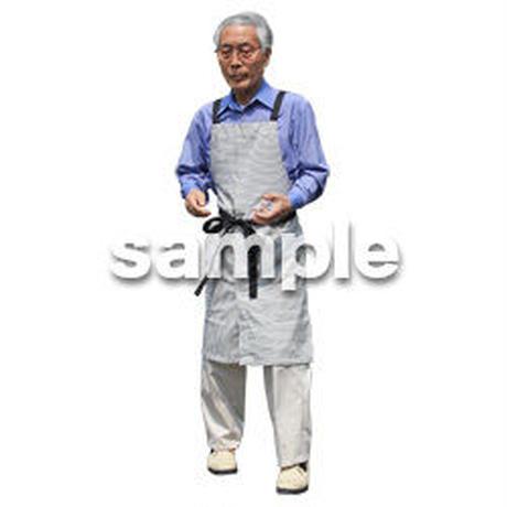 人物切抜き素材 シニアライフ編 R_256