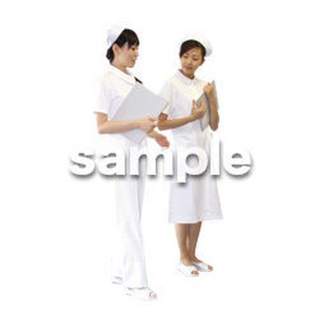 人物切抜き素材 医療・シニア車椅子編 D_134