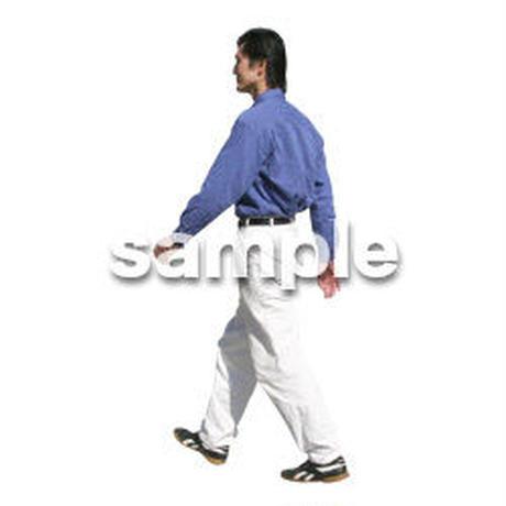 人物切抜き素材 カジュアル・ショッピング編 E_198
