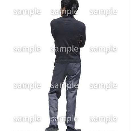 人物切抜き素材 ベーシックファッション編 P_495
